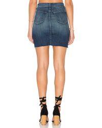 J Brand - Blue Rosalie Skirt - Lyst