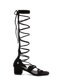 Jeffrey Campbell - Black Bryndis Sandals - Lyst