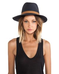Janessa Leone | Metallic Lucy Hat | Lyst