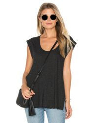Lanston - Multicolor Open X Back Tee - Lyst