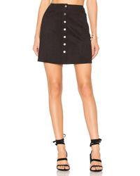 Level 99   Black Helen A-line Skirt   Lyst