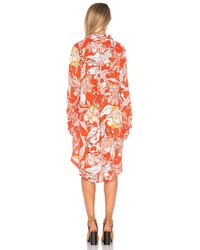 MINKPINK - Multicolor Orange Blossom Dress - Lyst