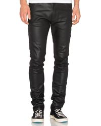 Naked & Famous | Stacked Guy 12oz Black Waxed Stretch for Men | Lyst