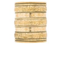 Natalie B. Jewelry - Natural Azteca Bracelet - Lyst