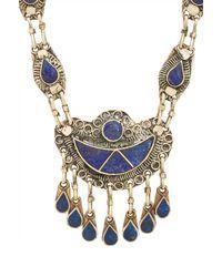 Natalie B. Jewelry - Blue 7 Seas Necklace - Lyst