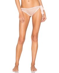 Only Hearts - Pink Coucou Lola Side Tie Bottoms - Lyst