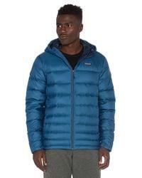 Patagonia - Blue Hi-loft Down Sweater Hoody for Men - Lyst