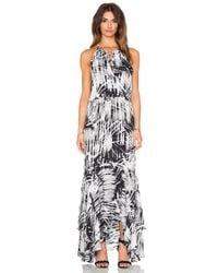 Parker | Gray Francesca Maxi Dress | Lyst