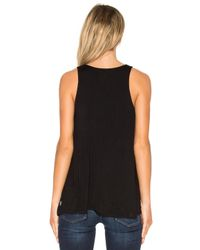 RVCA - Black Label Tunic Tank - Lyst