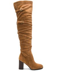 Sam Edelman | Brown Sable Suede Over-the-knee Boots | Lyst