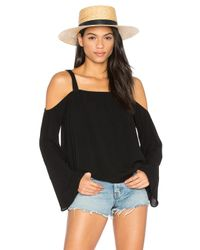 Sanctuary | Black Melody Bare Shoulder Top | Lyst