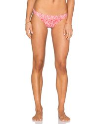 Shoshanna | Red Kilim Ikat Classic Bikini Bottom | Lyst