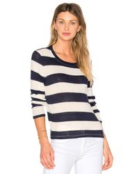 Splendid | Blue Cliffside Rugby Stripe Pullover | Lyst