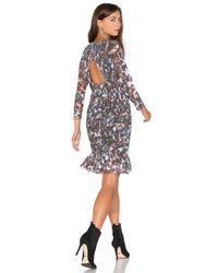 Twelfth Street Cynthia Vincent | Black Smocked Flounce Dress | Lyst