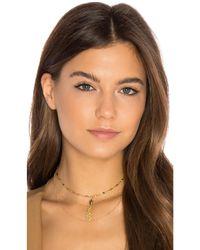 Vanessa Mooney | Metallic Maren Necklace | Lyst