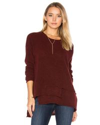 Wilt - Multicolor Mock Layered Sweater - Lyst