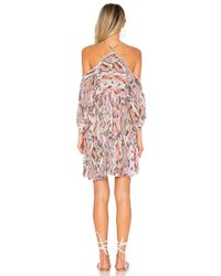 Free People - Pink Monarch Mini Dress - Lyst