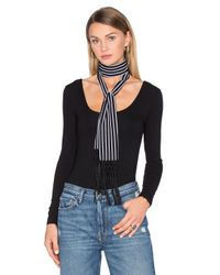 House of Harlow 1960 - Black X Revolve Ossie Scarf - Lyst