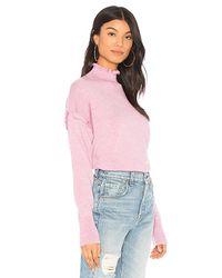 Rebecca Taylor - Pink Merino Wool Sweater - Lyst
