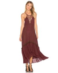Somedays Lovin - Purple Sweet Talking Dress - Lyst