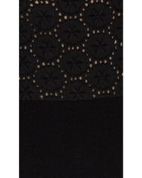 RED Valentino | Black Sweater Dress | Lyst