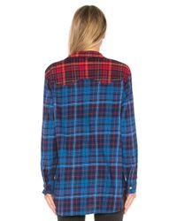 Tommy Hilfiger - Blue Tommy X Gigi Flannel Shirt - Lyst