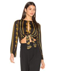 House of Harlow 1960 | Black X Revolve Jane Blouse | Lyst