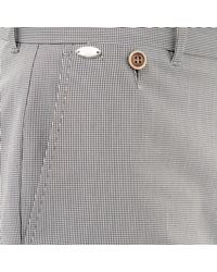 River Island - Blue Navy Smart Tailored Dogtooth Print Shorts for Men - Lyst