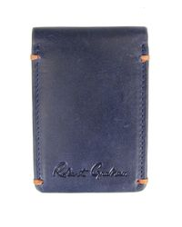 Robert Graham - Blue Salamon Magnetic Cardcase for Men - Lyst