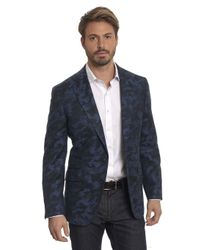 Robert Graham - Blue Portgain Tailored Fit Sport Coat for Men - Lyst