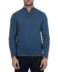 Robert Graham - Blue Cavalry Sweater for Men - Lyst