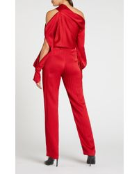 Roland Mouret - Red Driffield Top - Lyst