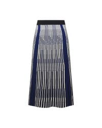 Roland Mouret - Blue Sulham Skirt - Lyst