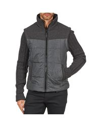 Esprit - Gray Ny/knit Mix Jkt Jacket for Men - Lyst