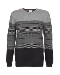 Oxbow - Gray Lachen Sweater for Men - Lyst