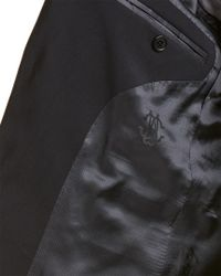 Roberto Cavalli Blue Wool Blazer for men