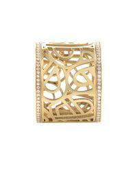 Poiray Metallic 18k 0.34 Ct. Tw. Diamond Ring