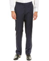 The Kooples - Blue Heather Houndstooth Wool Pant for Men - Lyst