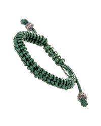 Stephen Webster - Green Silver & Rhodium Adjustable Bracelet - Lyst