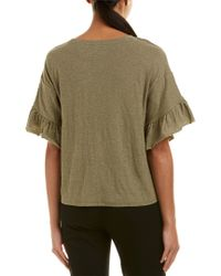 Vince Camuto - Green Top - Lyst