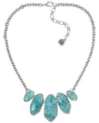 The Sak - Blue Resin Necklace - Lyst