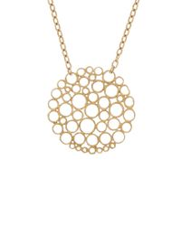 Gurhan - Metallic Lace 24k Necklace - Lyst