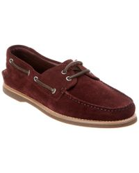 Brunello Cucinelli - Multicolor Suede Moccasin for Men - Lyst