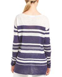 Tori Richard - Multicolor Linen Sweater - Lyst