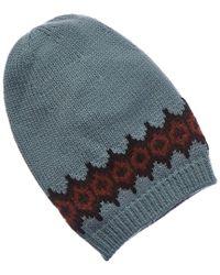 Gucci - Blue Wool Hat - Lyst