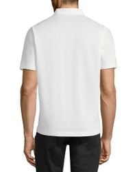 Theory - White Mercerized Pique Hybrid Shirt for Men - Lyst