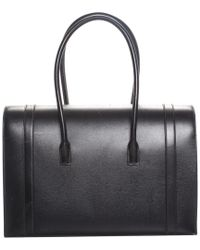 Hermès - Black Noir Vache Leather Drag Shoulder Bag - Lyst