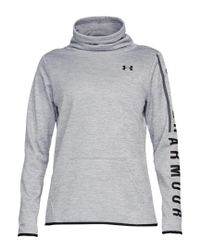 Under Armour - Gray Women's Armour Fleece® Graphic Twist Pullover - Lyst
