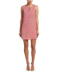 Peach Love CA - Red Stripe Shift Dress - Lyst