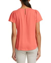 Cece by Cynthia Steffe - Pink Blouse - Lyst